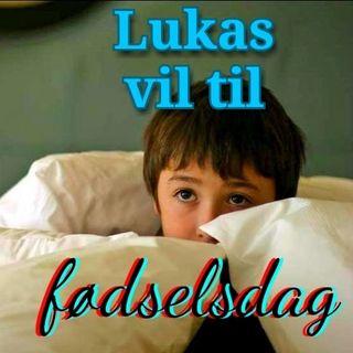 Godnathhistorie #7: Lukas får en fødselsdagsinvitation.