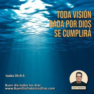 La Visión de Dios se cumplirá