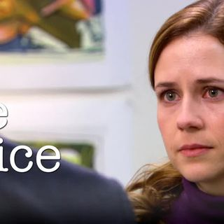 Michael Brings Pam to Tears at Her Art Show