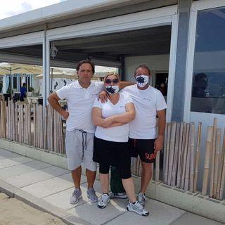 Estate. Al Nero di Seppia ombrelloni gratis ai medici - con Moira  11 giugno 2020