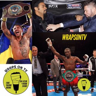 Wraps On TV special featuring Ohara Davies. Lomachenko v Walters review