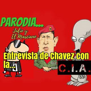 Parodia de entrevista Chavez con la CIA