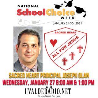 Joseph Olan / Sacred Heart Catholic School
