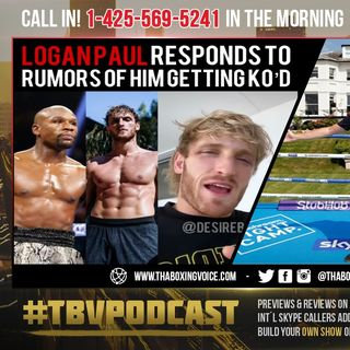 ☎️Logan Paul FIRES Back @ HATERS Who Say Mayweather KO'D HIM😱Eddie Gives Joshua vs Usyk Update❗️