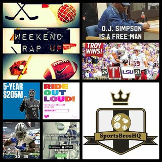 Weekend Rap Up Ep. 51: Cowboys Lose, but Giants still Winless