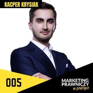 MPP#005 Rekrutacja prawników do pracy w kancelariach i jako in-house – Kacper Krysiak
