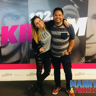 Manny chats with Anjelah Johnson about MJ's Neverland Ranch!