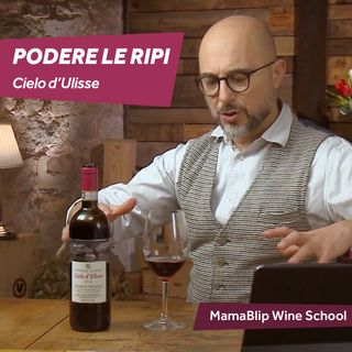 Sangiovese   Podere Le Ripi - Cielo d'Ulisse   Wine Tasting with Filippo Bartolotta
