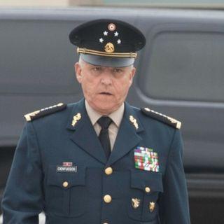 DEA imputa a Cienfuegos de servir al narco