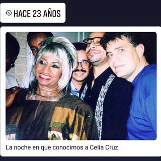Programa Cartelera con Celia con Celia Cruz - Radio Nederland (7 de agosto de 1997)