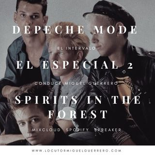 Depeche Mode El especial Spirits in the Forest