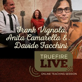 Frank Vignola + Anita Camarella & Davide Facchini Guitar Lessons, Performances, & Interviews