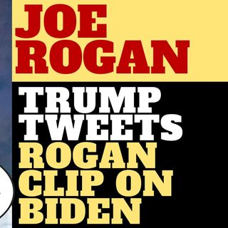 THE LEFT IS MAD AT JOE ROGAN AGAIN OVER BIDEN COMMENT