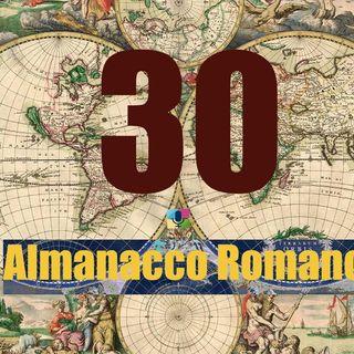 Almanacco Romano, 30 Aprile