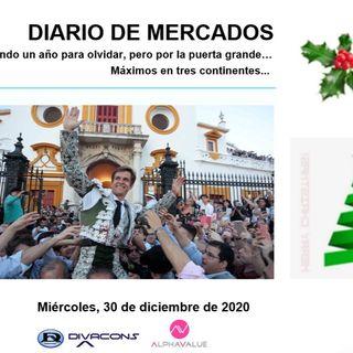 DIARIO DE MERCADOS Miércoles 30 Dic