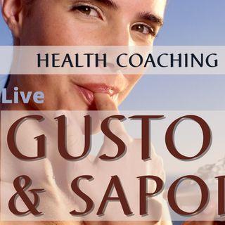 Gusto e Sapore- quello che non sapevi sul cibo | Health Coaching con Helena Mercuri - Live