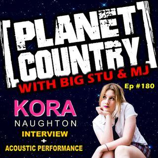 #180 - Kora Naughton in the studio
