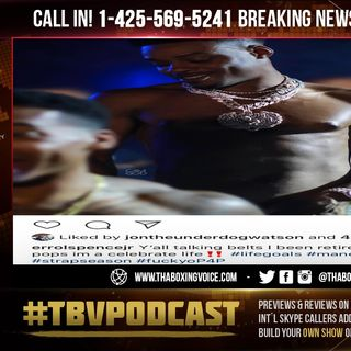 ☎️Errol Spence Jr FIRES BACK @ Terence Crawford🔥F@$K Yo Pound 4 Pound😱
