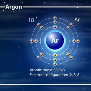 Argon. Il sistema periodico. Primo Levi.