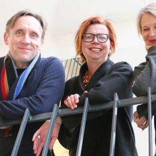 Maja Aase, Göran Everdahl och Helena von Zweigbergk