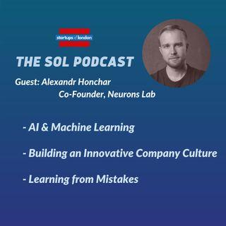 Building an Innovative AI Company with Alexandr Honchar, Co-Founder of Neurons Lab