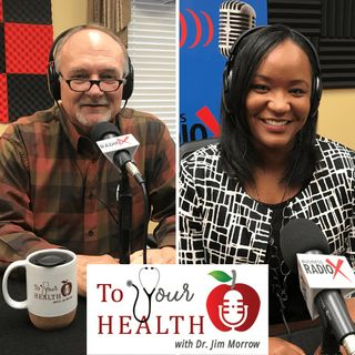 To Your Health With Dr. Jim Morrow:  Episode 32, Stress in a Pandemic with Dr. Brooke Jones, Fresh Start for the Mind, and a Covid-19 Update