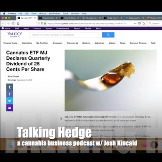 How to Navigate Cannabis Indexes & ETFs (2019)