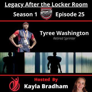 S1:EP25--Tyree Washington, Retired Sprinter