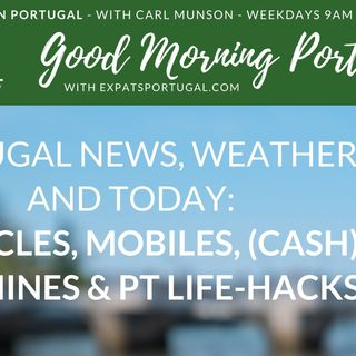 Portugal news, weather & today: miracles, mobiles and money