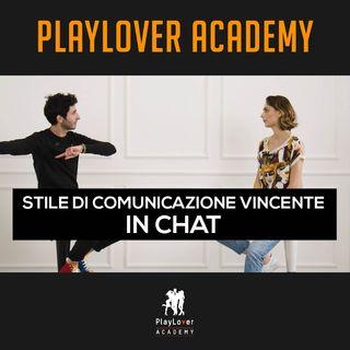 185 - Stile di comunicazione vincente in chat