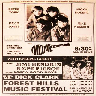 The Monkees y Jimi Hendrix