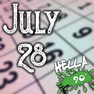 July 28 - This Day in 90s History