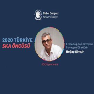 2020 Türkiye Sürdürülebilir Kalkınma Öncüsü: Boğaç Şimşir