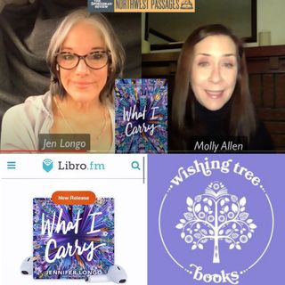 """Jennifer Longo """"What I Carry"""" in conversation with Molly Allen"""