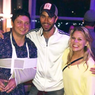 We go to the ER and party with Enrique Iglesias