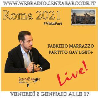 A #Roma2021 Fabrizio Marrazzo