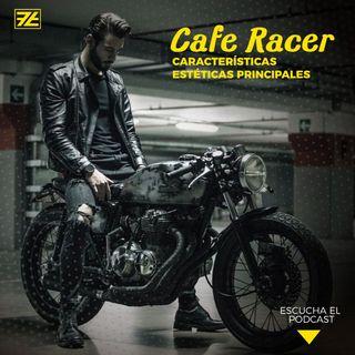 Estilo Café Racer de las motos
