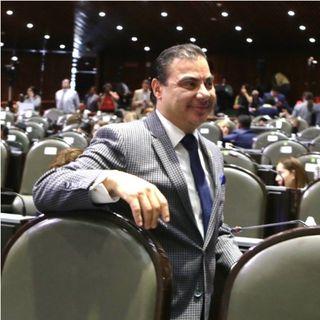 Da positivo en Covid-19 el diputado federal de Movimiento Ciudadano Jorge García Alcibíades