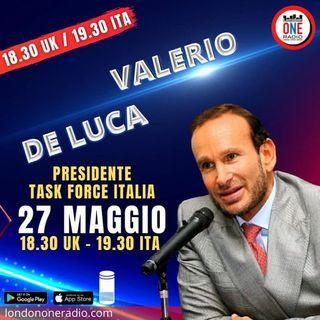 Valerio De Luca, Presidente di Task Force Italia