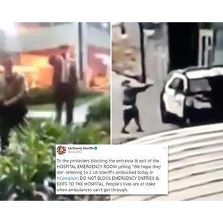 """Do Cops DESERVE to be shot in revenge for killing Blacks?"" ALLViewsWelcome"