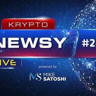 Krypto Newsy Live #284 | 03.09.2021 | Bitcoin $100k, Ethereum $5k - Bloomberg, SEC atakuje Uniswap Labs, NFL zakazuje NFT i kryptowalut