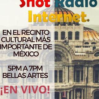 El Palacio de Bellas Artes recibe este 2018 a Shotradio Internet para cerrar el año ¡Escuchen este especial!