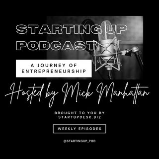 Starting Up Podcast with guest Maria Daniels