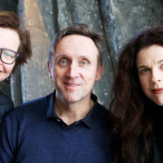 Maja Aase, Göran Everdahl och Jessika Gedin