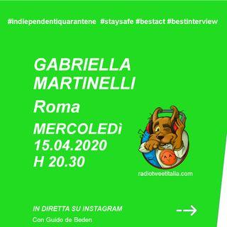 #QUARANTINE - Vengo dopo il TG - Gabriella Martinelli