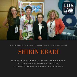 SHIRIN EBADI - Intervista VI Congresso Giuridico Distrettuale Riva del Garda