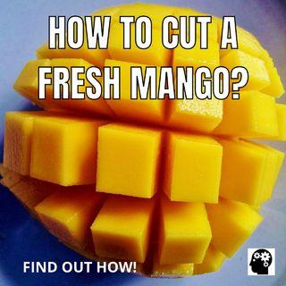 How To Peel A Mango?