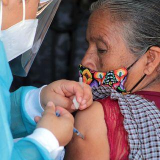 Continua vacunación en Oaxaca