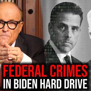 Rudy Giuliani le dice a Newsmax lo que tenía la computadora de Hunter Biden
