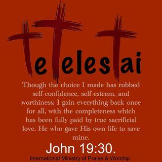 Fulfillment on cross.